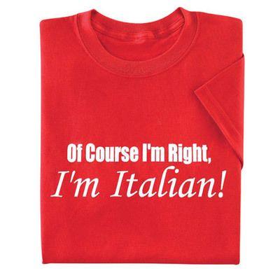 Italian Pride Tee