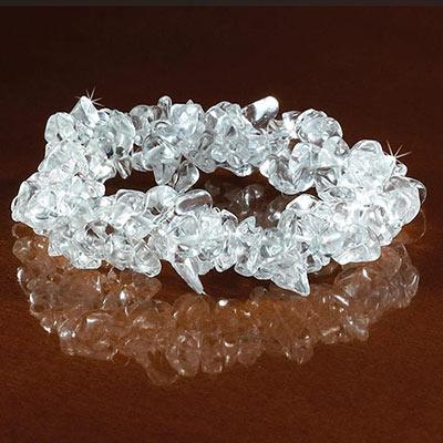 Clear Stretch Bracelet