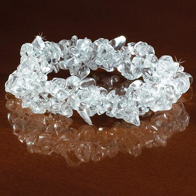Clear Stretch Bracelet