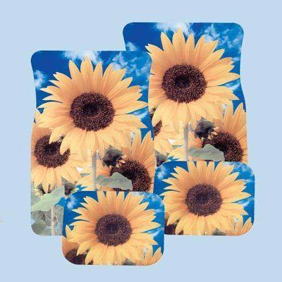 Sunflower Car Mat Set