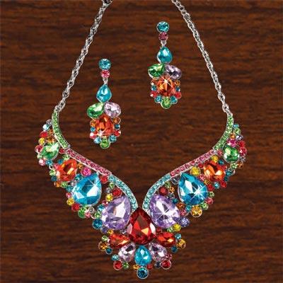 Bejeweled Jewelry Set
