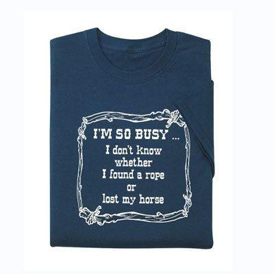 I'm So Busy Tee