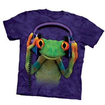 DJ Peace Frog Attitude Adult Tee