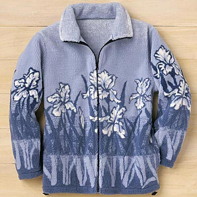 Iris Fleece Jacket - MEDIUM