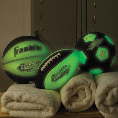 Glow-in-the-Dark Sports Ball