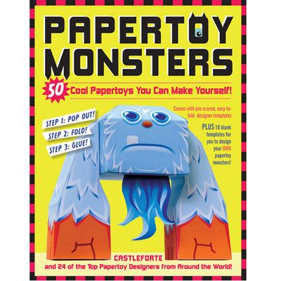 Papertoy Monsters Book