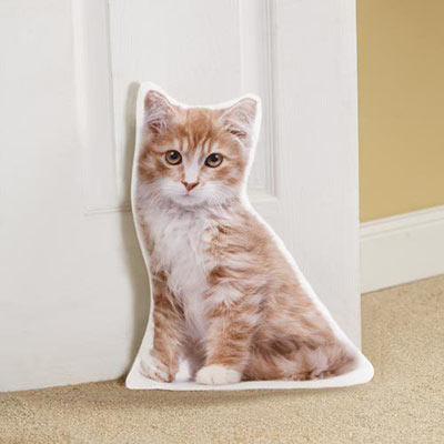 Cat-Shaped Doorstop