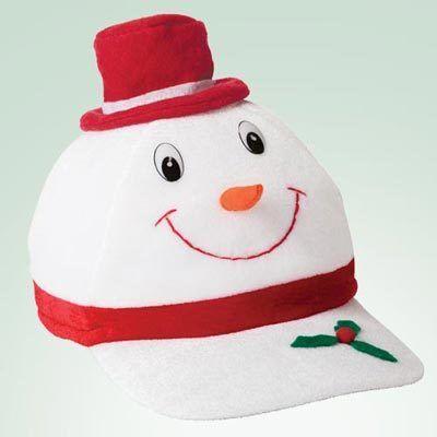 Snowman Baseball Cap
