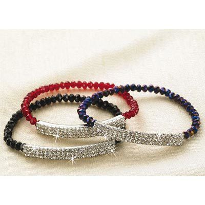 Purple Shimmering Bracelet