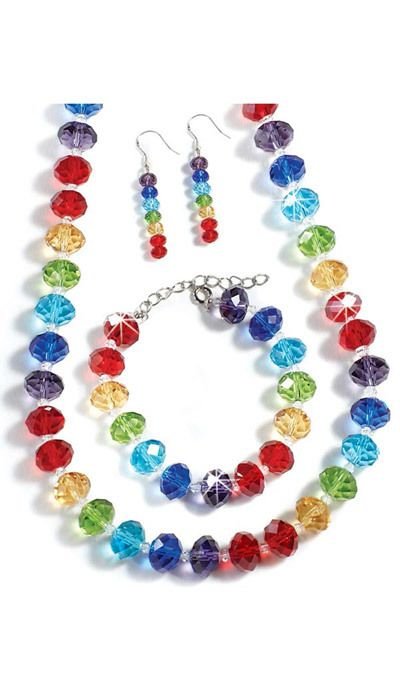 Rainbow Crystal Jewelry
