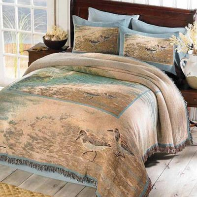 Water's Edge Tapestry Coverlet