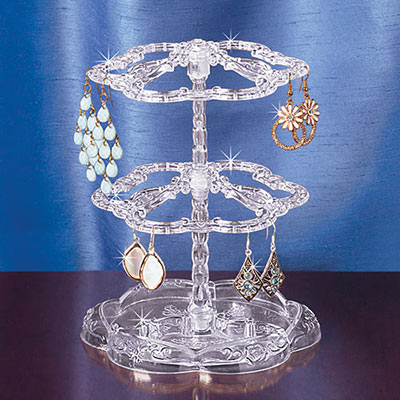 Romantic Earring Carousel