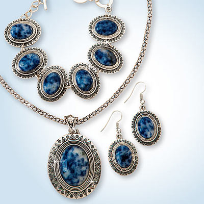 Soladite Southwest Jewelry Set