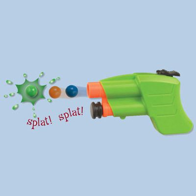 Mini Paintball Blaster