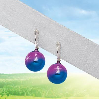 Shimmering Orb Earrings