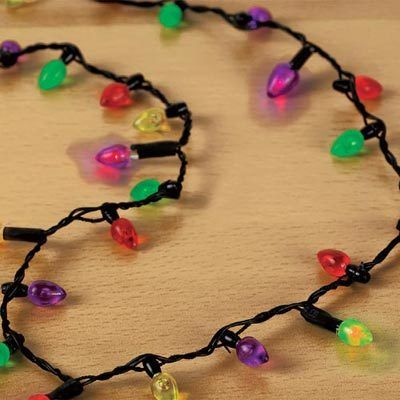Blinking Lights Necklace
