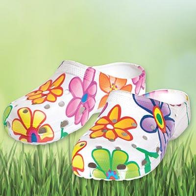 Blooming Garden Clogs