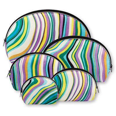 5-in-1 Swirl Cosmetic Bags