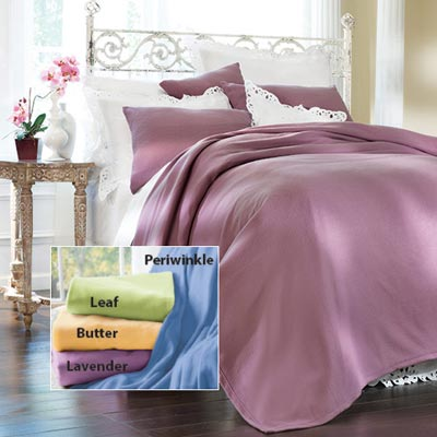 Pastel Fleece Blankets & Accessories