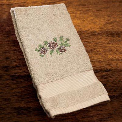 Wildlife Embroidered Hand Towel
