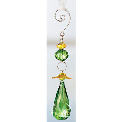 Pretty Green Pastel Suncatcher