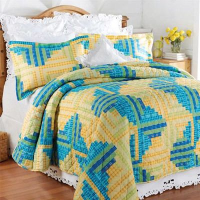 Sanibel Breeze Quilt Set