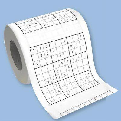Sudoku Toilet Tissue