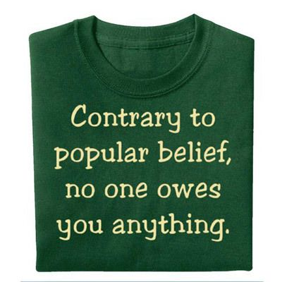 Contrary to Belief Tee