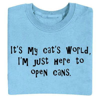 Cat's World Tee