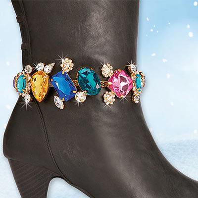 Brilliant Gems Boot Bracelet