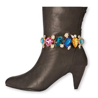 Brilliant Gems Boot Bracelet