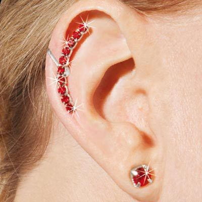 Brilliant Bling Earcuff Set