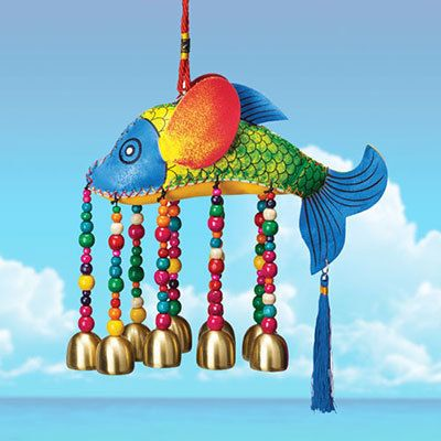 Fantastic Fish Wind Chime