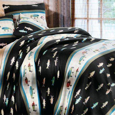 Fisherman's Dream Fleece Blankets & Accessories