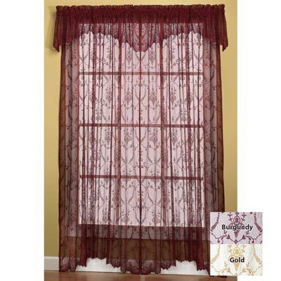 Lacy Leaf Window Panel 36l Panel