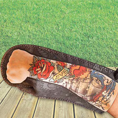 Tattoo Oven Mitt