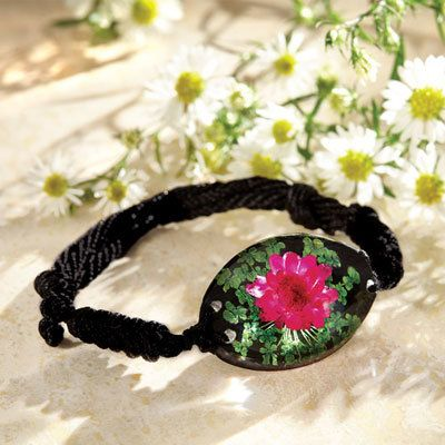 Everlasting Flower Bracelet