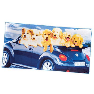 Joy Ride Beach Towel