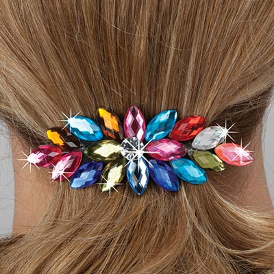 Colorful Starburst Hair Clip