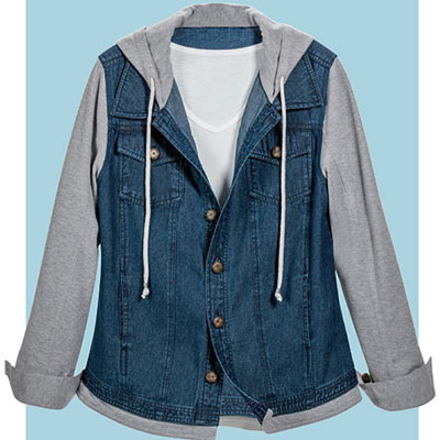 Fleece & Denim Jacket