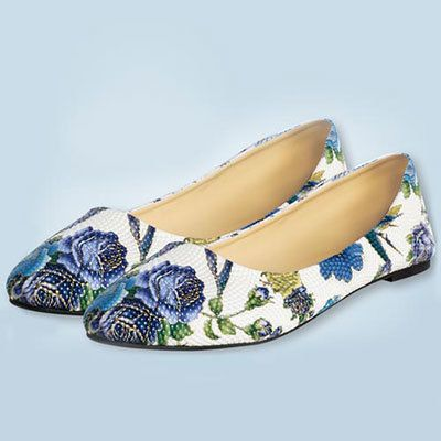 Blue Rose Loafers