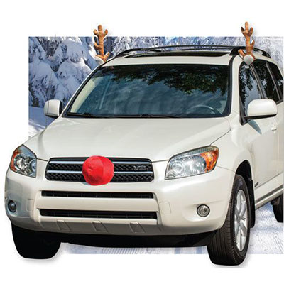 Reindeer Ride Car Decoration