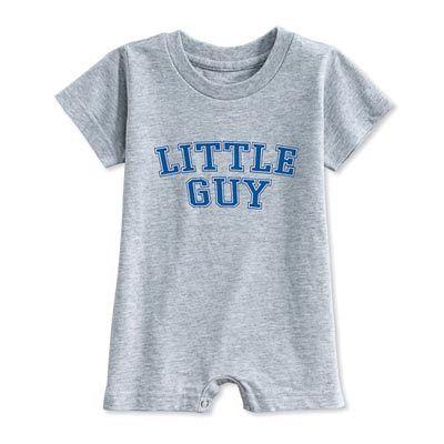 Little Guy Infant Romper Tee