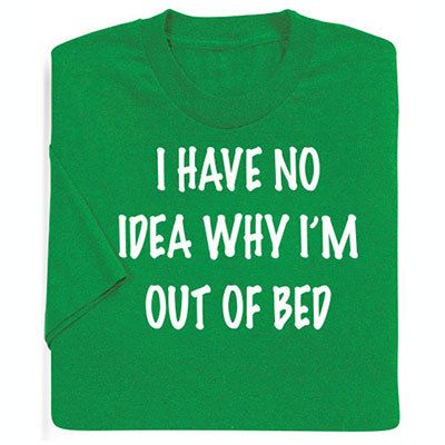 Out of Bed Tee