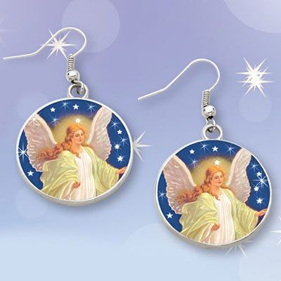 Guardian Angel Earrings