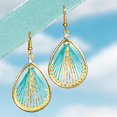 Turquoise Dreamcatcher Earrings
