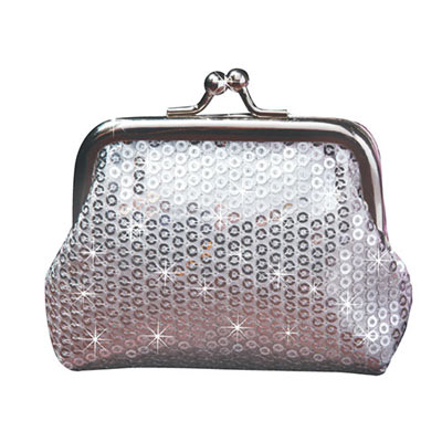 Sequined Coin Purse