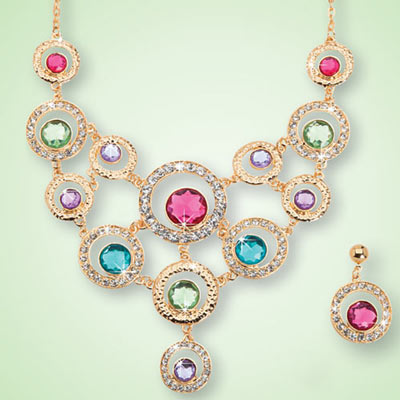 Pastel Brilliance Jewelry Set