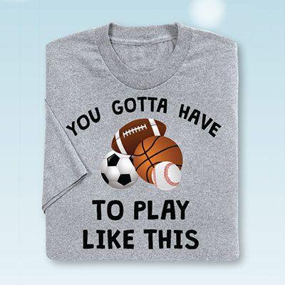 Sports Ball Tee