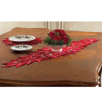 Poinsettia Runners